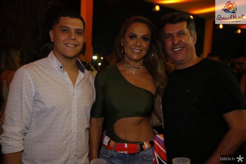 Carlos Ademir e Clea e Flavio Farias