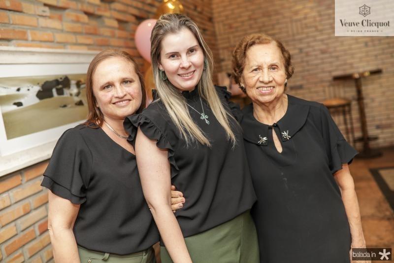 Marcia, Adriana e Conceiçao Loureiro