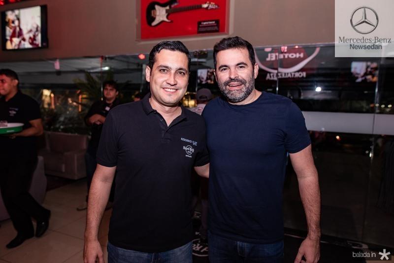 Luis Sobreira e Alan Bezerra