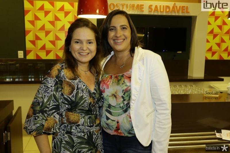 Ismenia Gurgel e Andrea Fiuza