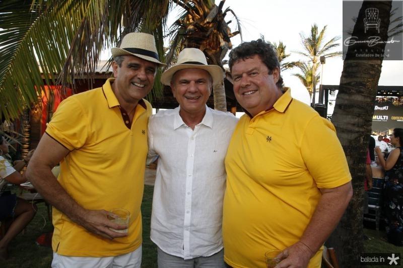Andre Vercosa, Joao Carlos Diogenes e Evandro Colares