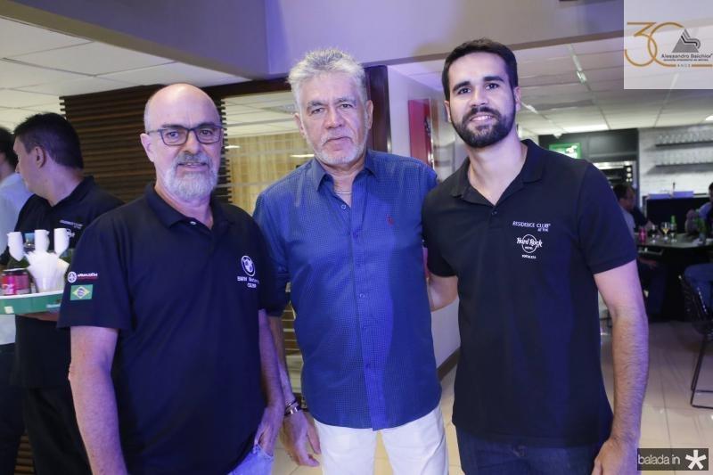 Sergio Brito, Alfredo e Lucas Pearce