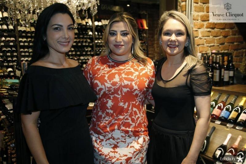 Danielly Linheiro, Manu Romcy e Erica Lima