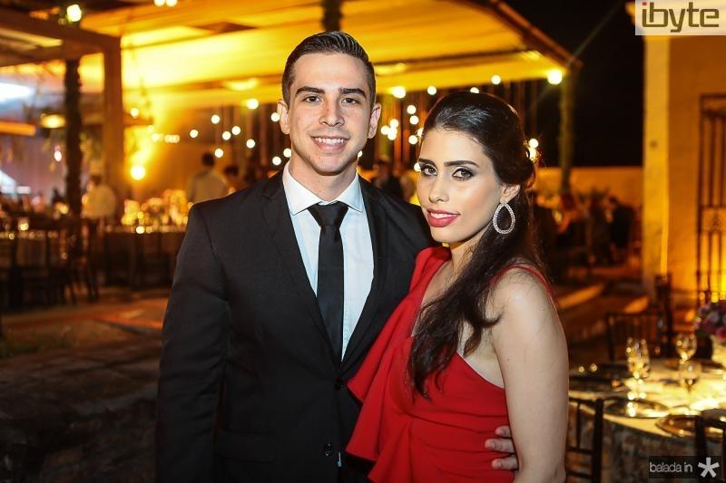 Felipe Bride e Larissa Leal