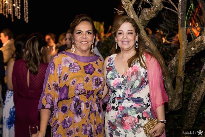 Ailza Ventura e Marcia Castro