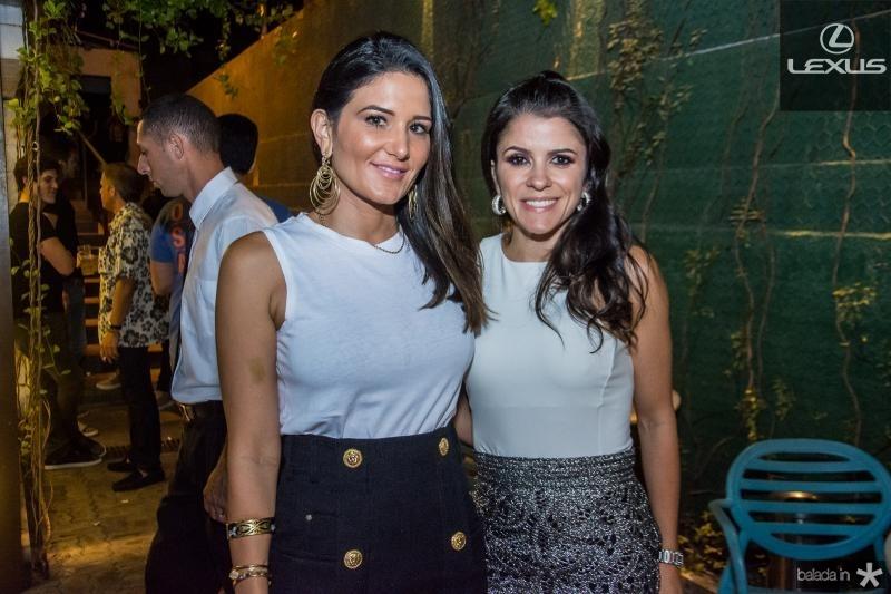 Aline Pinho e Tatiana Machado