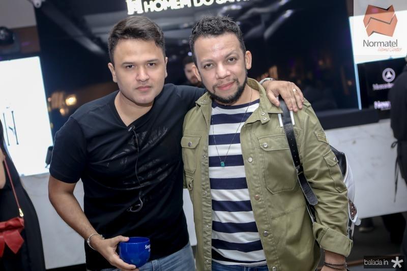 Jhonatan Rego e Roberto Alves