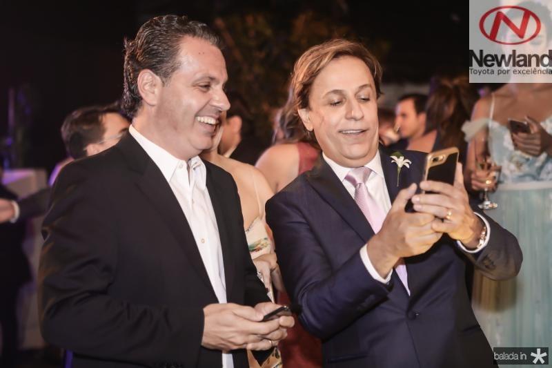 Leonardo Dallolio e Tom Cavalcante