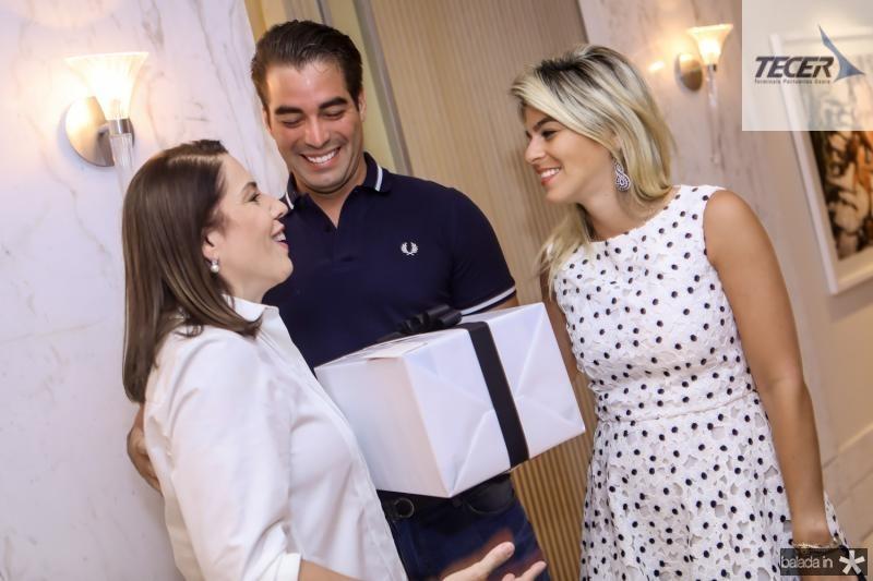 Denise Bezerra, Leonardo e Amanda Vidal