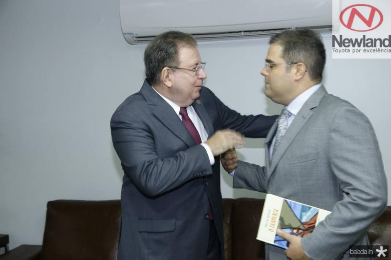 Ricardo Cavalcante e Edson Queiroz Neto