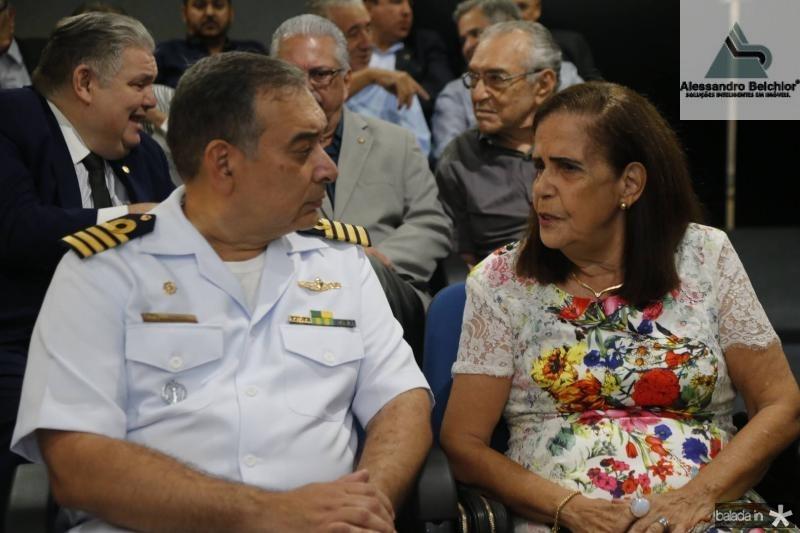 Madson Cruz e Maria Teresa Araripe