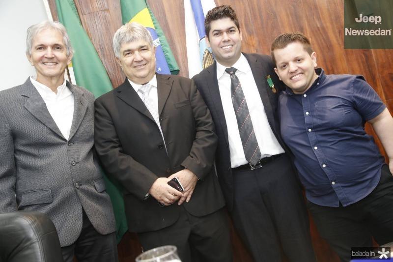 Luiz Goiana, Carlos Eduardo e Mauro Benevides Neto e Bruno Goiana
