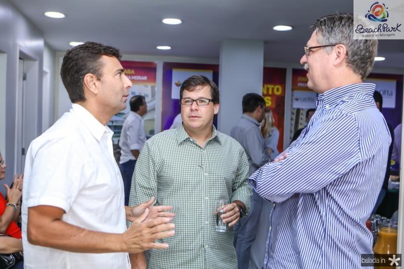 Marcos Novais, Mauricio Sales e Carlos Gama