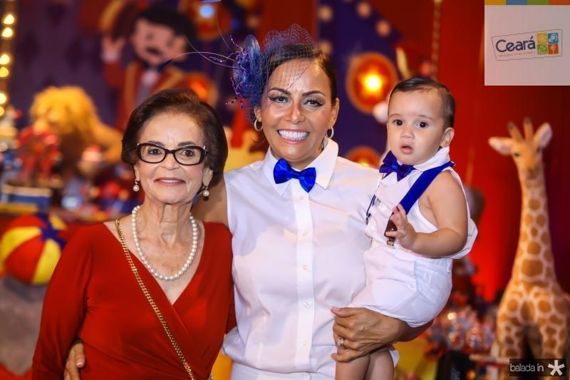 Noemia, Gil e Bento Santos