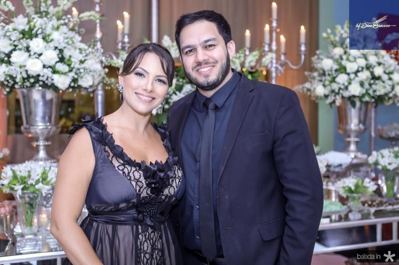 Silvia Cavalcante e Andre Vitor