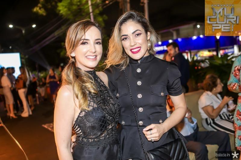Kaline Ferraz e Mirela Vieira
