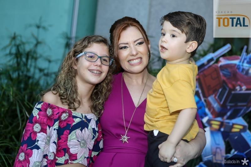 Beatriz Queiroz, Aline e Victor Barroso