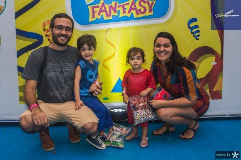 Guilherme Neto, Guilherme, Helena e Juliana Gouveia