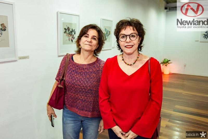 Silvia Cavalcante e Angela Julita