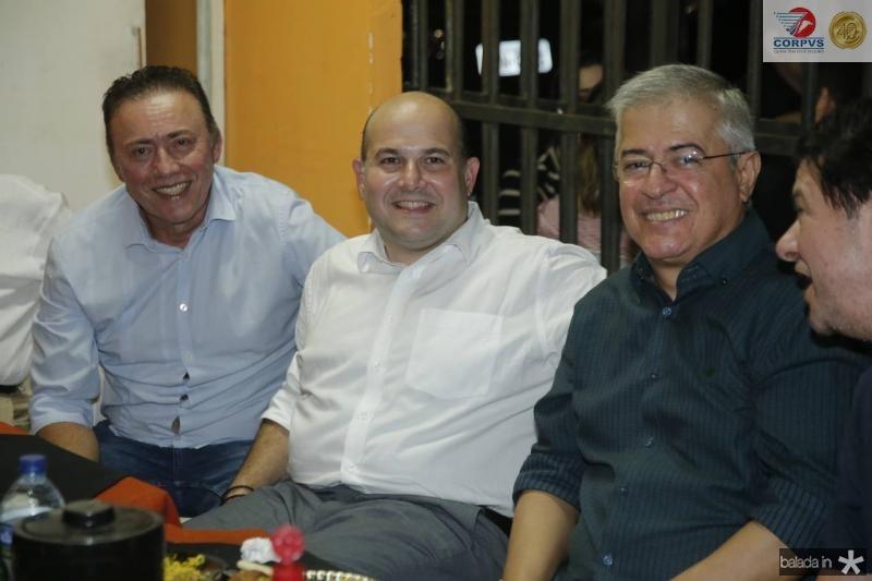 Darlan Leite, Roberto Claudio, PC Noroes e Cid Gomes 2