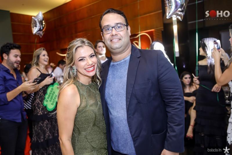 Vanessa Queiros e Rafael Joca