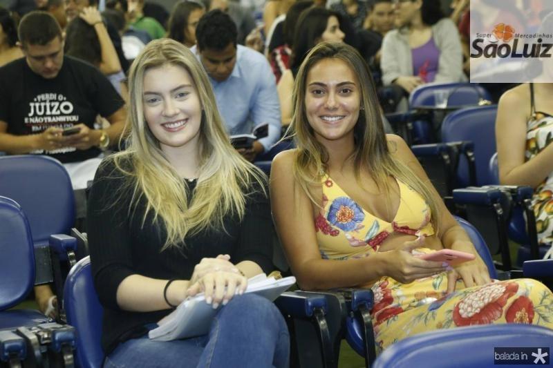 Teresa Santos e Clara Ketlen