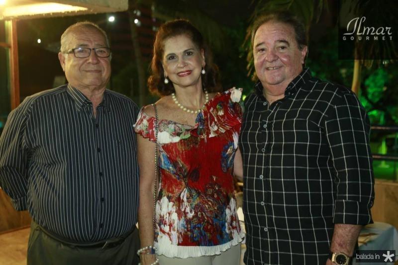 Cesar Mota, Beta Fiuza e Chiquinho Aragao