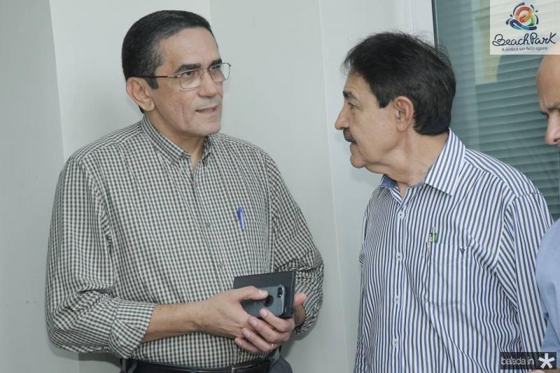 Denisio Pinheiro e Raimundo Gomes de Matos
