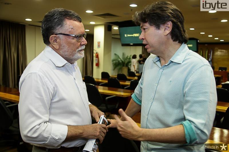 Marcos Albuquerque e Edgar Gadelha
