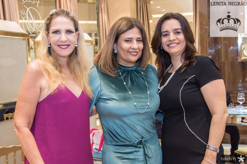Marjorie Marshall, Montielle Arruda e Lia Freire