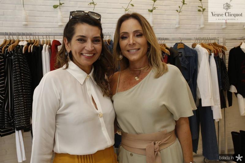 Marcia Travessoni e Ana Paula Daud
