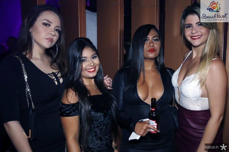 Larissa Felix, Norrara Alves, Larissa Moreira e Patricia Carvalho