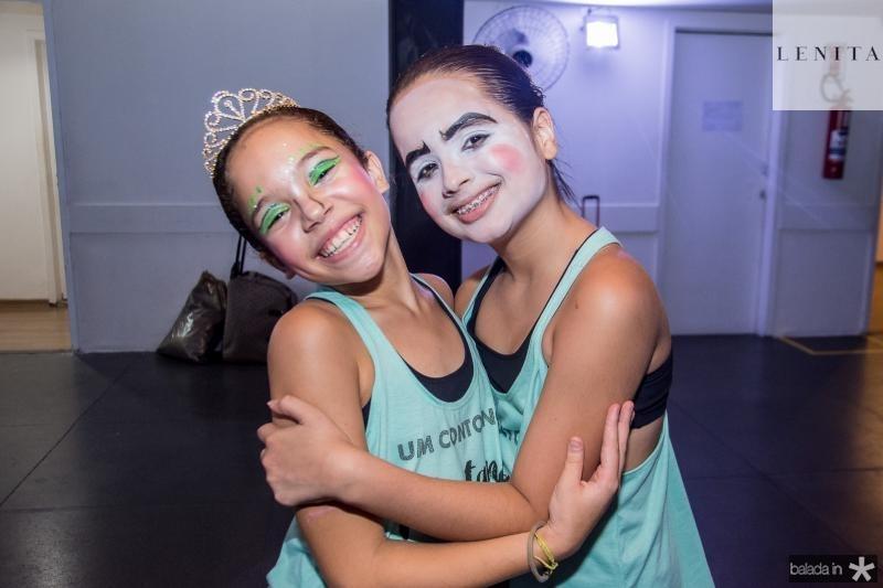 Valentina Saboia e Jessica Bezerra