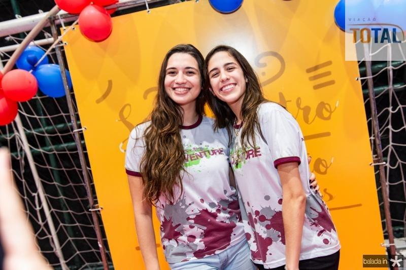 Ana Clara Santos e Maria Beatriz Otoch