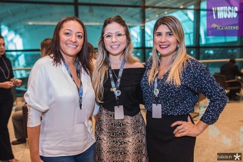 Michele Ribeiro, Mayra Guerreiro e Natalia Cavalcante