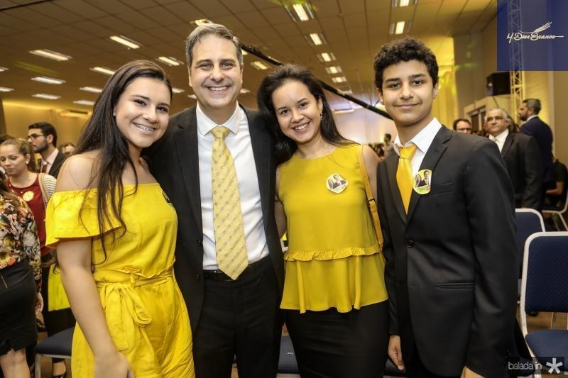 Marilia, Erinaldo, Cristina e Eduardo Dantas