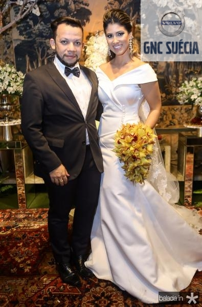 Roberto Alves e Larissa Ximenes