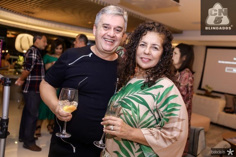 Fred Portela e Ana Maria Borges