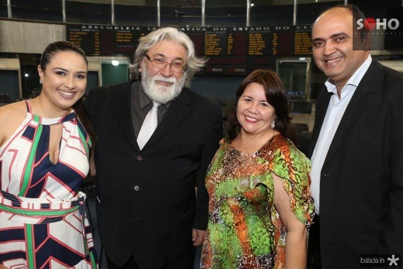 Adriana Abreu, Maestro Poty, Ivana Castro e Toty Silva