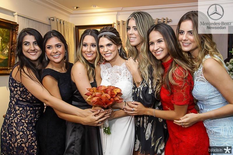 Beatriz Portela, Germana Frota, Grasiela Maia, Mariana Pinto, Gabriela Assunçao, Marina Brasil e Bia Gradvohl