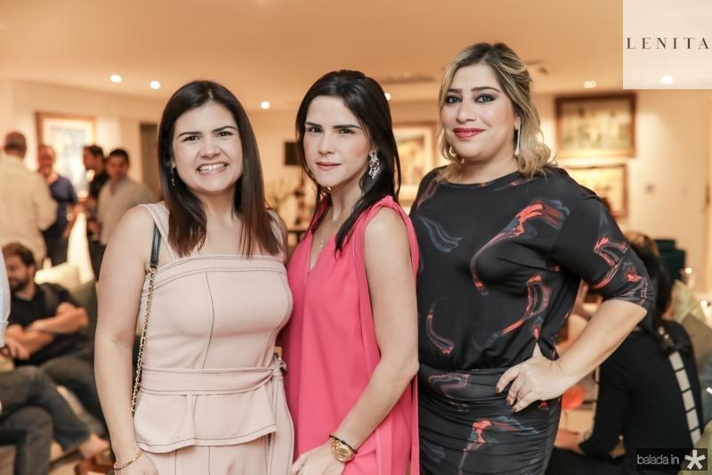 Ticiana Brigido, Marilia Vasconcelos e Manu Romcy
