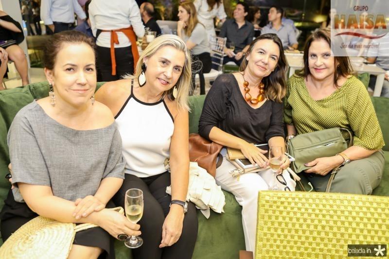 Marcela Brasileiro, Ione Fiuza, Lautia Feitosa e Celina Fiuza