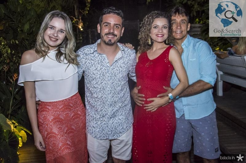 Beatriz Sousa, Solon Pires, Carla Sousa e Jose Santos