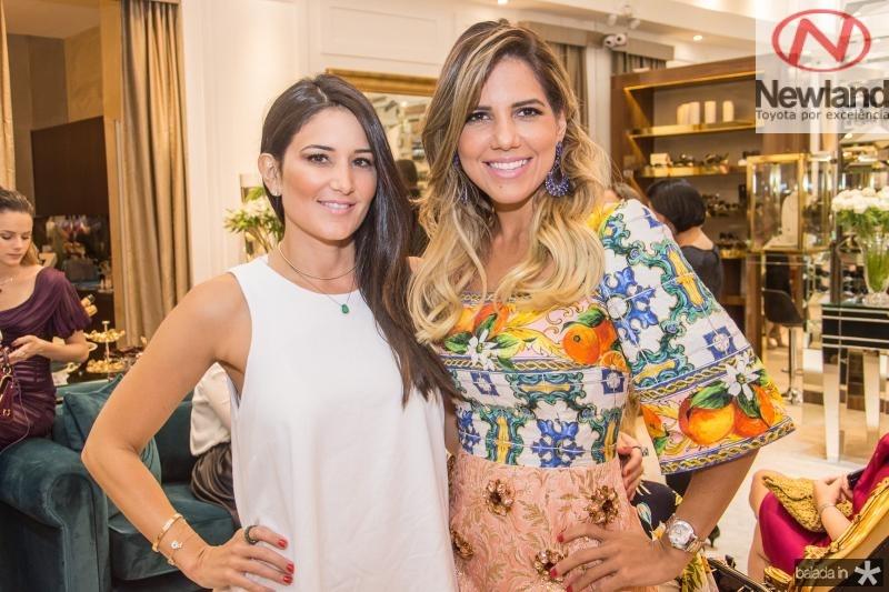 Aline Pinho e Ana Carolina Fontelene