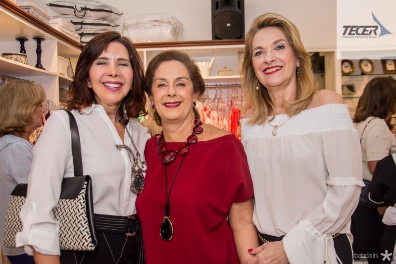 Monique Gentil, Tida Leal e Ana Lucia Cabral