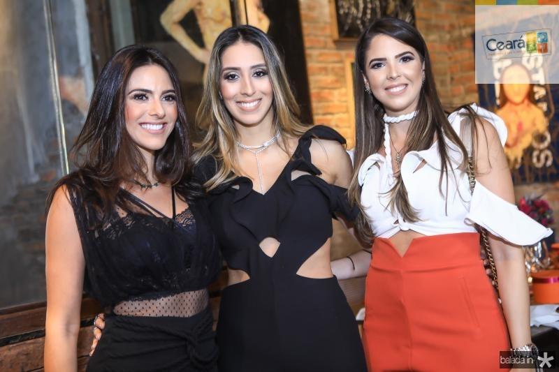 Milena Holanda, Natalia Ximenes e Yasmin Magalhaes