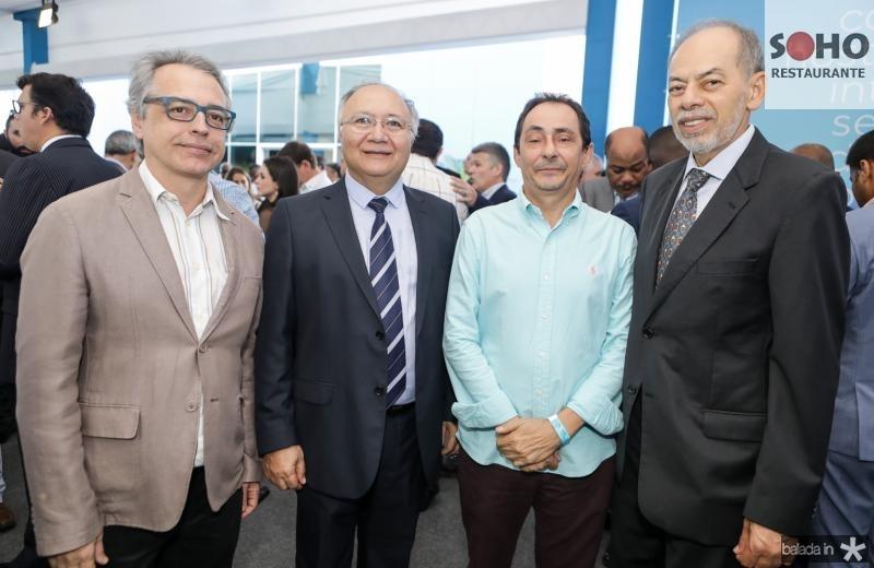 Eduardo Alencar, Delano Gadelha, Ozair Gomes e Inacio Arruda