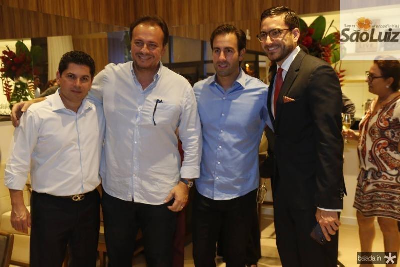 Pompeu Vasconcelos, Adriano Nogueira, Vitor Frota e Bernardo Santana
