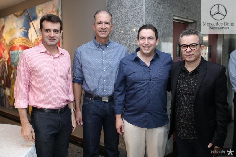 Fernando Gurgel,Regis Medeiros, Rodrigo Pereira e Fabiano Piuba