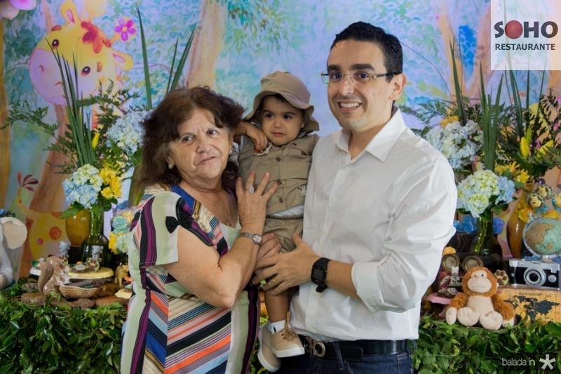 Fatima, Henrique e Marcio Magalhaes